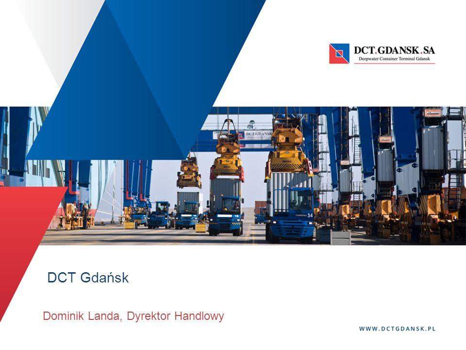 DCT Gdańsk Dominik Landa, Dyrektor Handlowy
