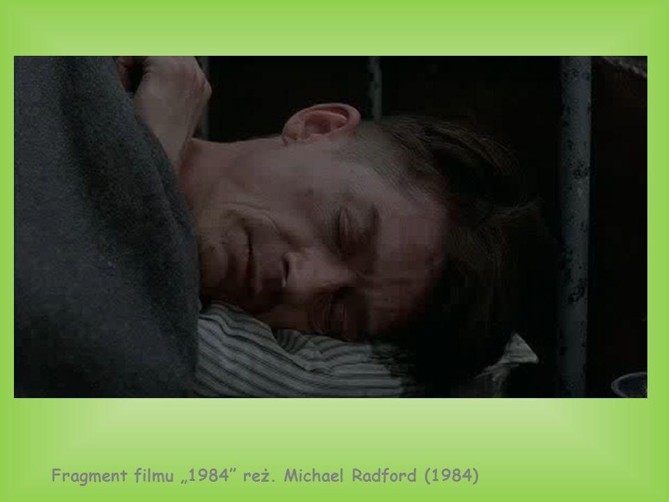 """Fragment filmu """"1984"""" reż. Michael Radford (1984)"""