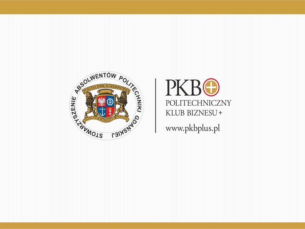 """Cele PKB+ ● Politechniczny Klub Biznesu """"PKB+ powstał w 2001 roku, aby promować działalność zawodową członków oraz popierać przedsiębiorczość i gospodarkę rynkową."""