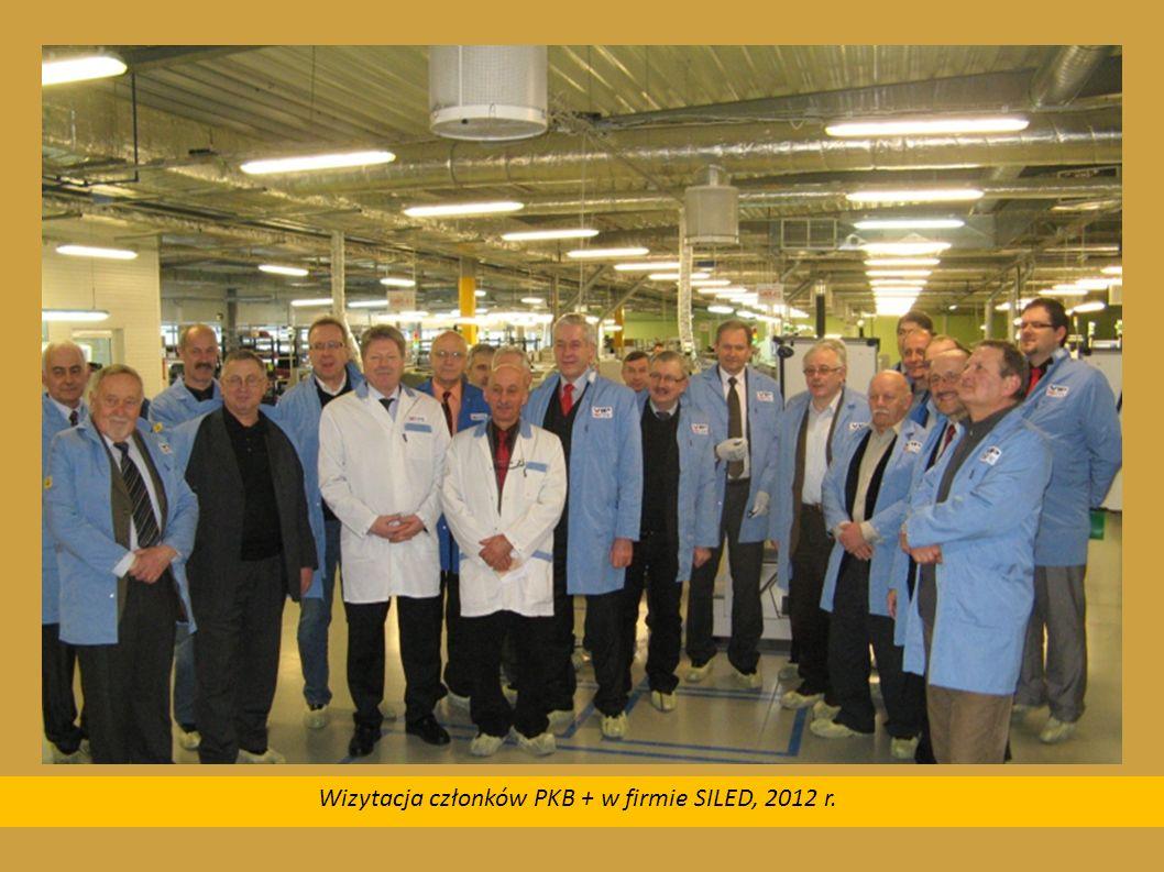 Wizytacja członków PKB + w firmie SILED, 2012 r.