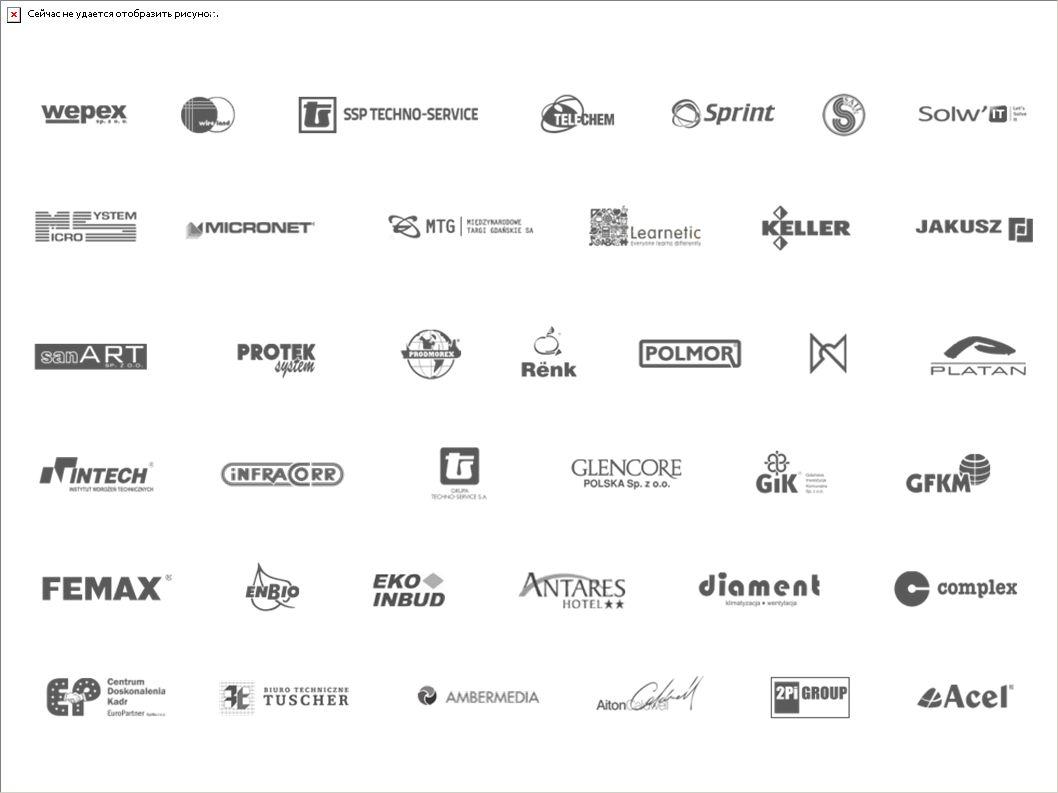 Firmy reprezentowane przez członków PKB+