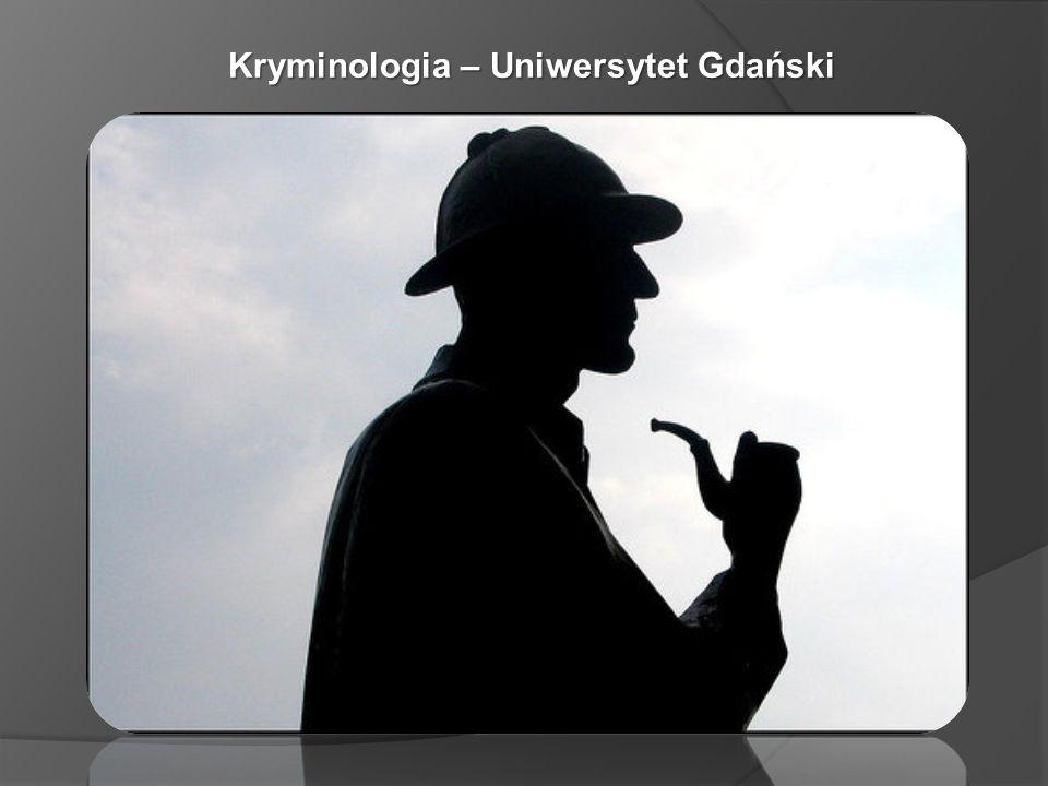 Kryminologia – Uniwersytet Gdański
