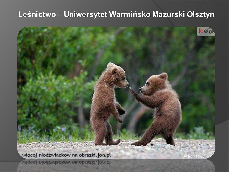 Leśnictwo – Uniwersytet Warmińsko Mazurski Olsztyn