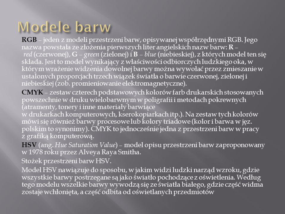 BMP - format pliku z grafiką bitmapową.