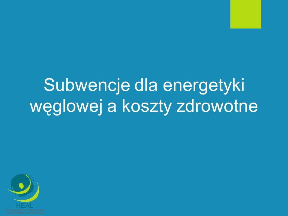 Produkcja energii elektrycznej w Polsce Średni wiek bloków w polskich elektrowniach wynosi ok.