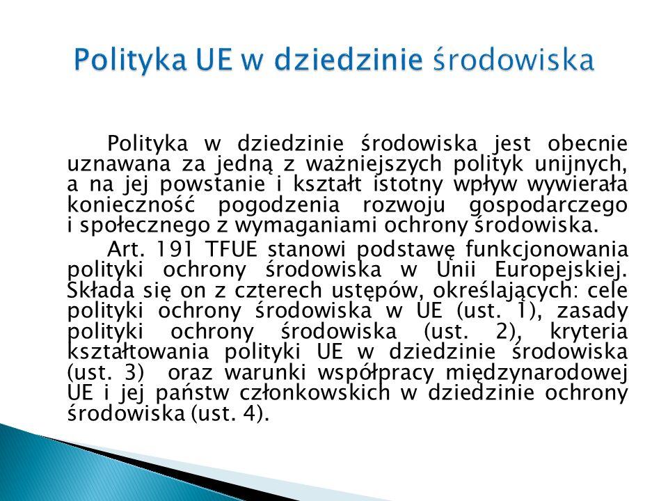Postanowienia art.191 nie są bezpośrednio skuteczne.