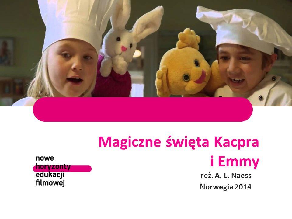 Magiczne święta Kacpra i Emmy reż. A. L. Naess Norwegia 2014