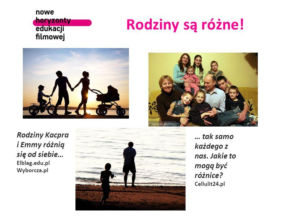Rodziny są różne.