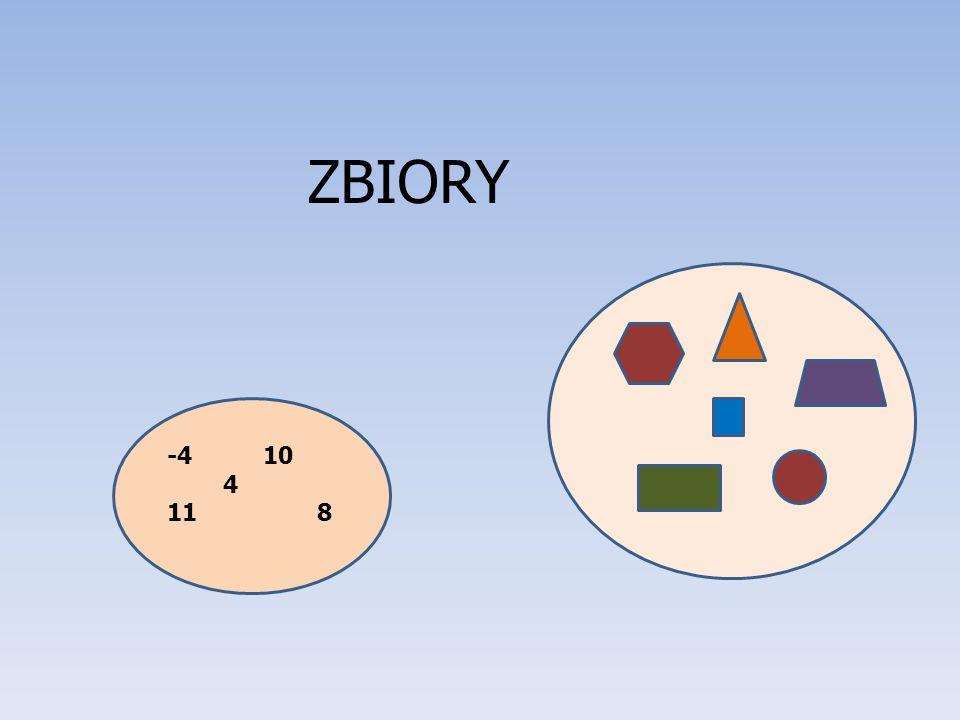 ZBIORY -4 10 4 11 8