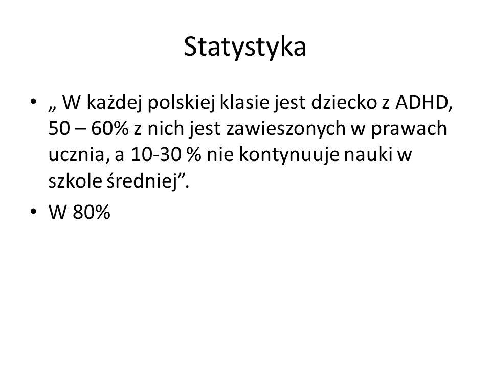 ADHD po polsku oznacza zespół nadpobudliwości psychoruchowej z zaburzeniami koncentracji uwagi.