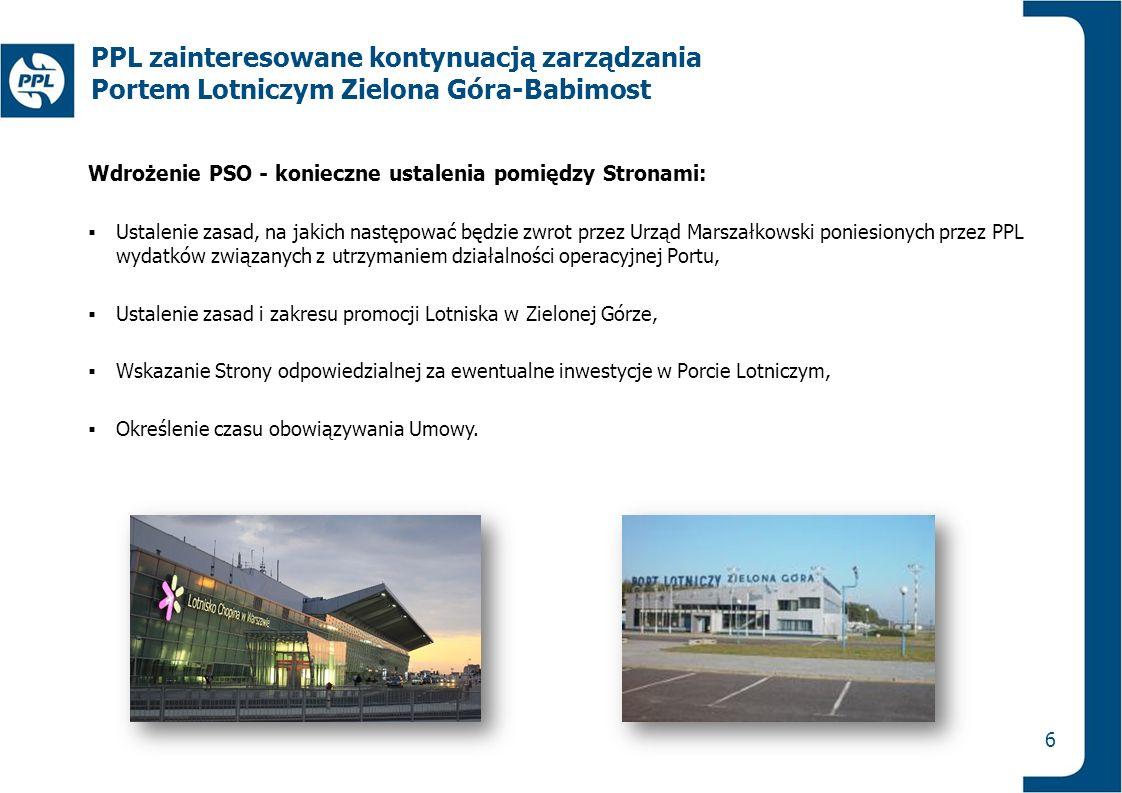 Wdrożenie PSO - konieczne ustalenia pomiędzy Stronami:  Ustalenie zasad, na jakich następować będzie zwrot przez Urząd Marszałkowski poniesionych prz