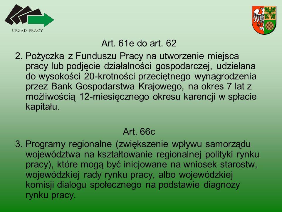 Art. 61e do art. 62 2.
