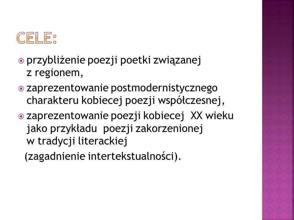  Poetycki skrót, sięganie po tematy utrwalone w tradycji literackiej, ale nadawanie im nowej formy (Awangarda Krakowska: J.