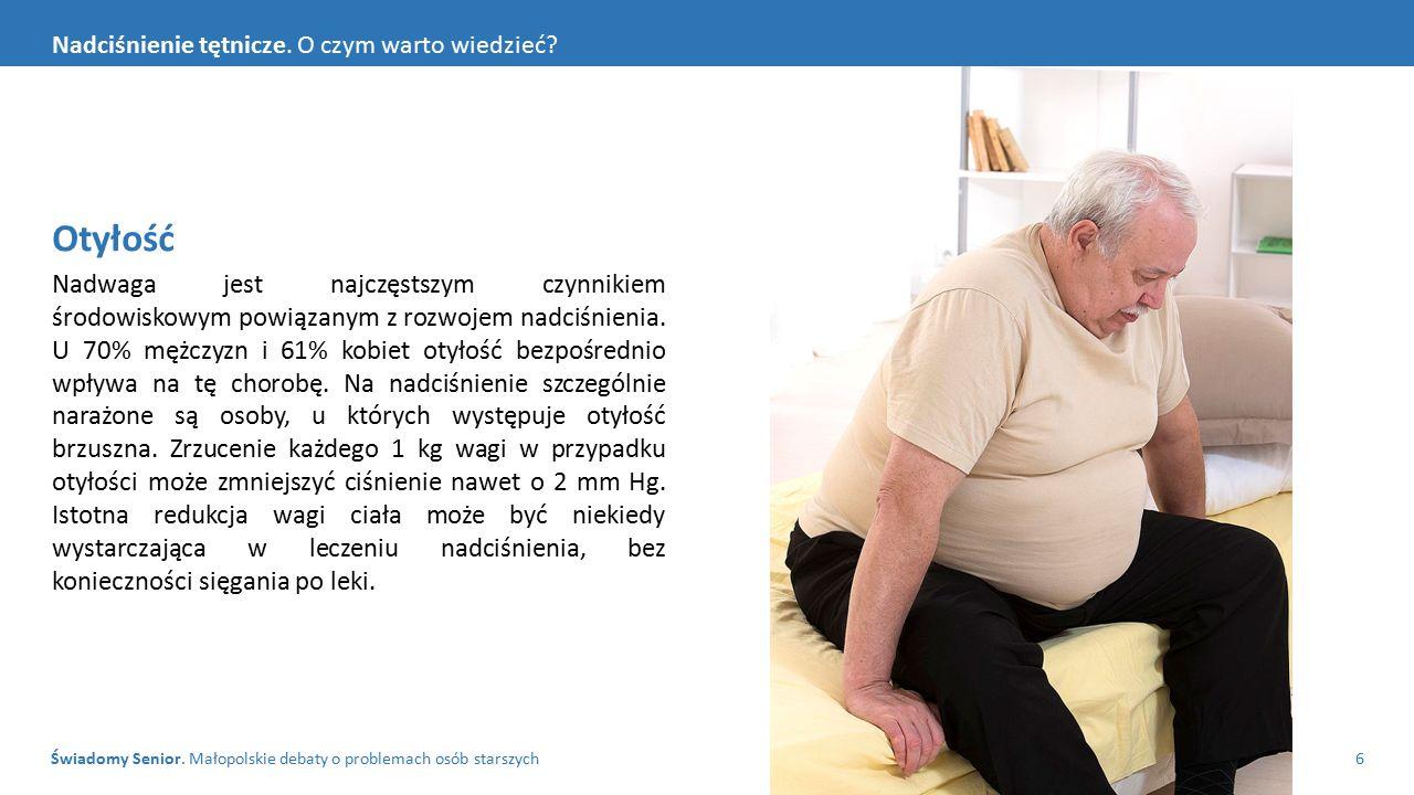 Świadomy Senior.Małopolskie debaty o problemach osób starszych7 Nadciśnienie tętnicze.