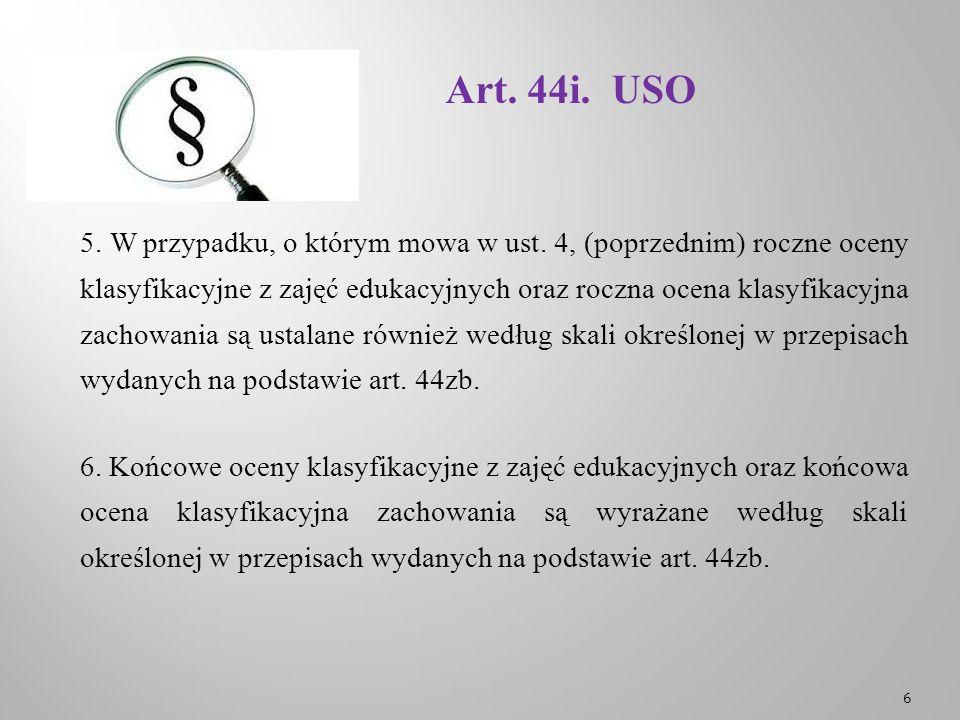 Art.44i. USO 7.