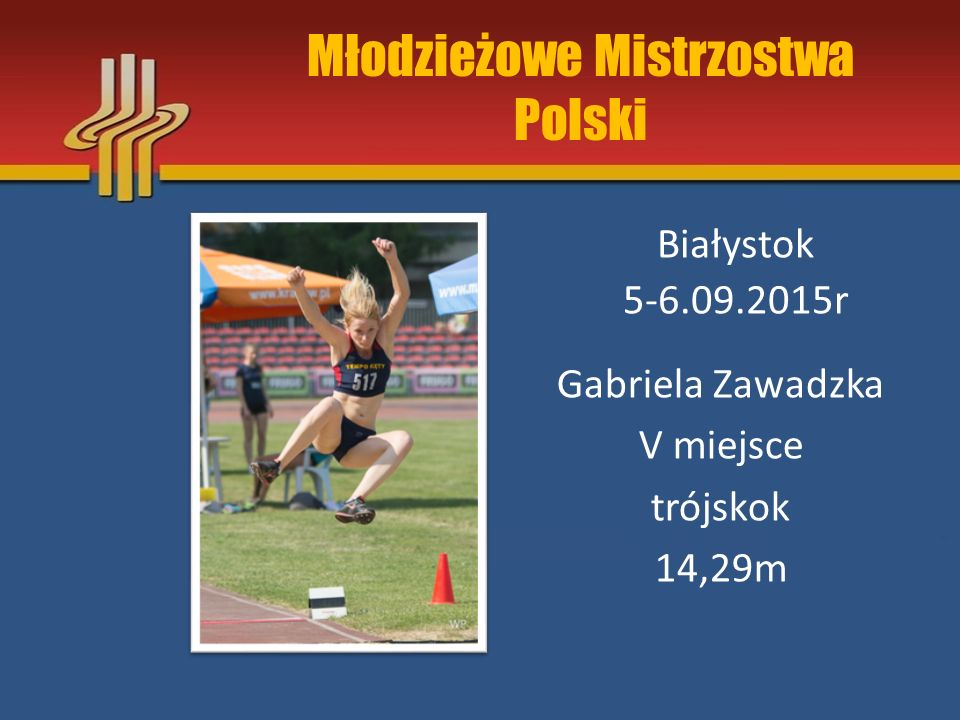 Mistrzostwa Polski Juniorów Biała Podlaska 28-30.06.2015r Maciej Cisiński eliminacje skok w dal 6,25m
