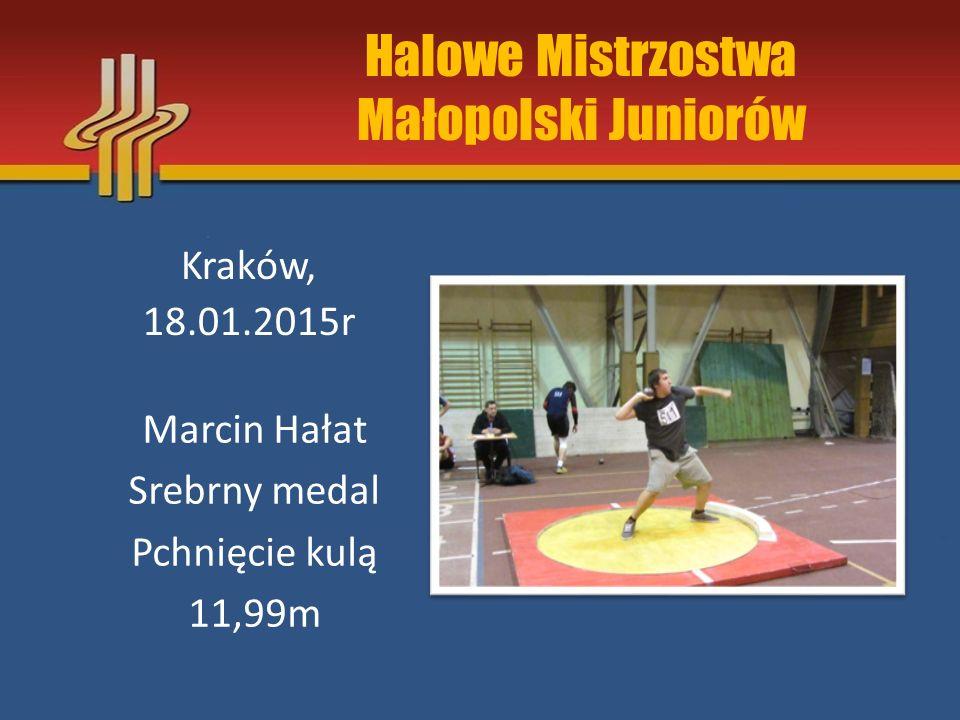 Zawody klasy I VII Memoriał Gwiazd LA – Kraków I Liga Lekkoatletyczna – Sosnowiec Mecz Juniorów i Jun.