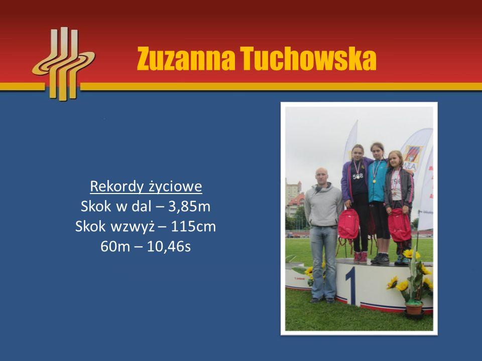 Dzieci Starsze rocznik 2003-2002 Julia Żyła Gabriela Wójcik