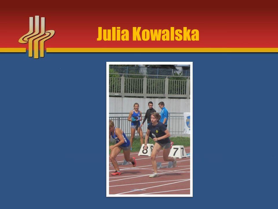 Najważniejsze osiągnięcia sezonu 2015 V miejsce w Mistrzostwach Małopolski Młodzików w skoku w dal – Kraków 19.09.2015r.