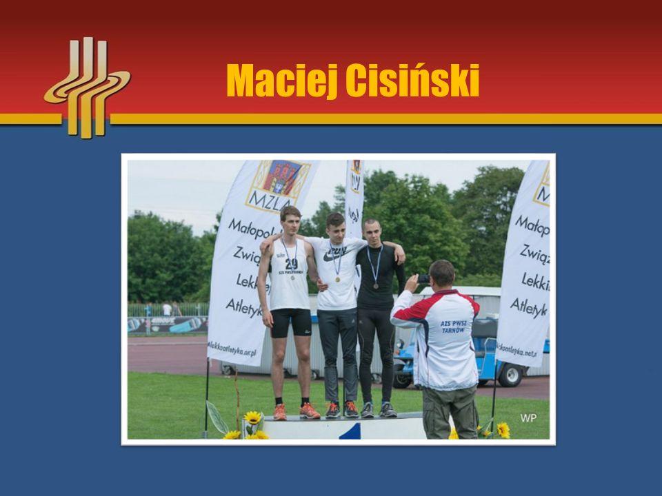 Najlepsza Lekkoatletka 2015 MKS Tempo Kęty Gabriela Zawadzka