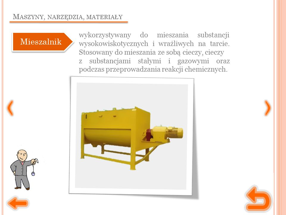 M ASZYNY, NARZĘDZIA, MATERIAŁY Mieszalnik wykorzystywany do mieszania substancji wysokowiskotycznych i wrażliwych na tarcie.