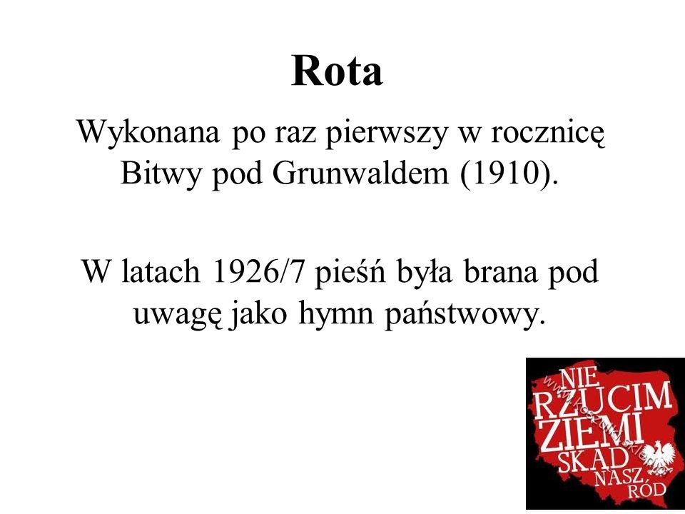 Jeszcze Polska nie zginęła, Kiedy my żyjemy, Co nam obca przemoc wzięła, Szablą odbierzemy.