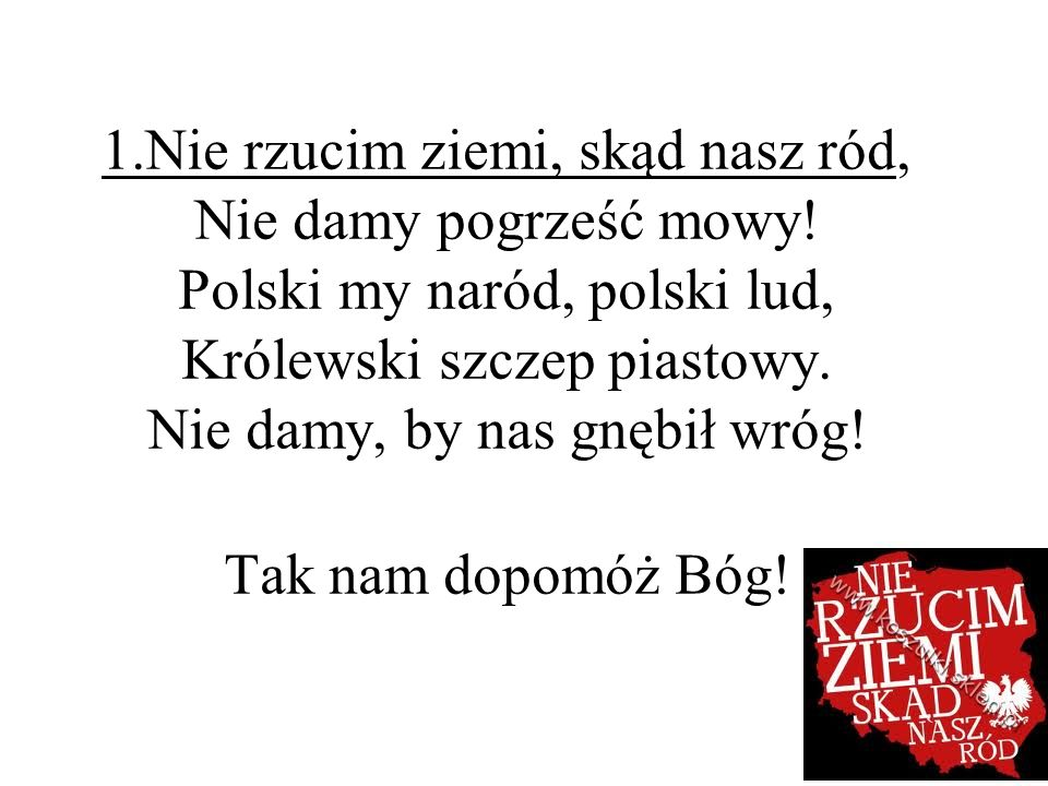 Piechota 1918 tekst: Bolesław Lubicz-Zahorski lub Leon Łuskino melodia: Leon Łuskino