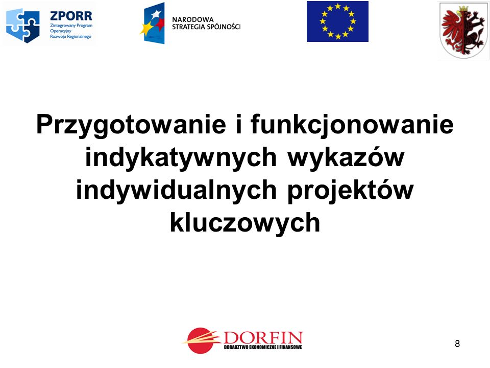 29 Kwalifikowalność wydatków W zakresie dotyczącym kwalifikowalności wydatków w ramach indywidualnych projektów kluczowych stosuje się regulacje dotyczące kwalifikowalności wydatków w ramach wszystkich projektów objętych wsparciem z funduszy strukturalnych lub Funduszu Spójności.