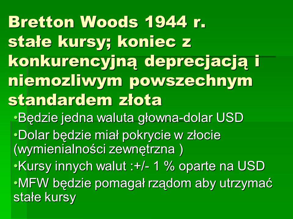 Bretton Woods 1944 r.