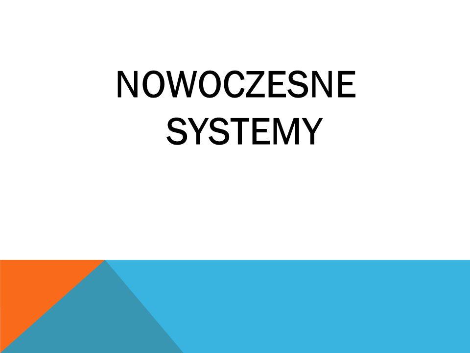 NOWOCZESNE SYSTEMY