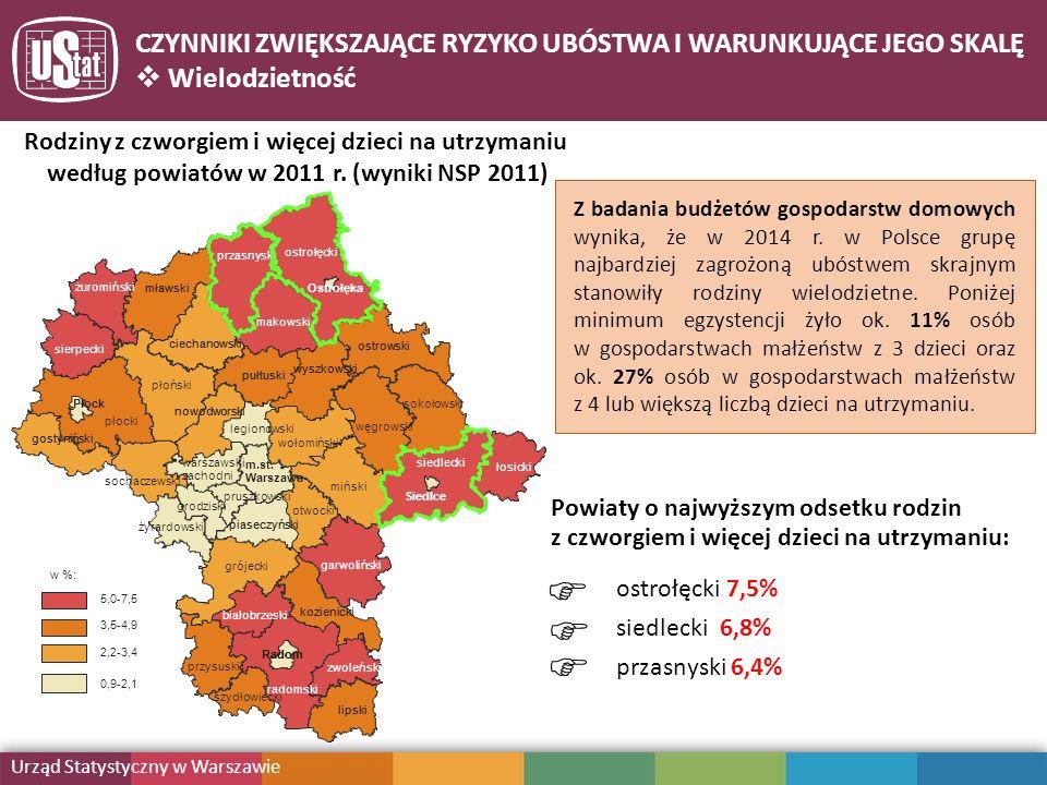 - Z badania budżetów gospodarstw domowych wynika, że w 2014 r.