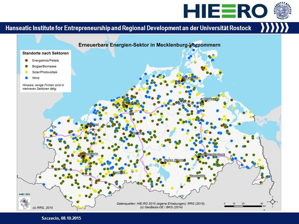 Hanseatic Institute for Entrepreneurship and Regional Development an der Universität Rostock Szczecin, 08.10.2015