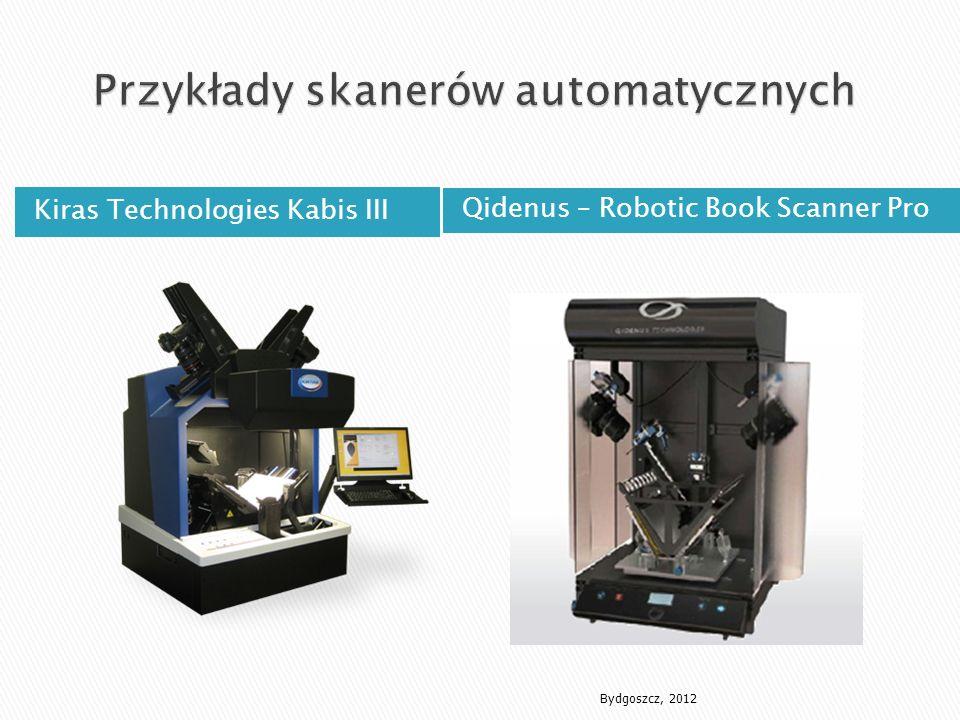 Kiras Technologies Kabis III Qidenus – Robotic Book Scanner Pro Bydgoszcz, 2012