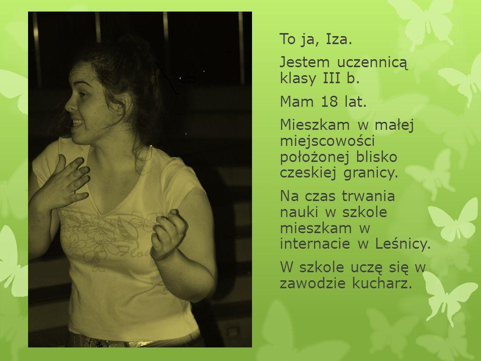 Konkurs e-Portfolio dla szkół specjalnych Izabela Duda kl. III b Zasadnicza Szkoła Zawodowa w Leśnicy