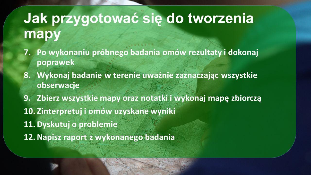 Przykłady projektów: rowery w miastach W Olkuszu stworzono mapę społecznościową przedstawiającą zapotrzebowanie a podstawowa infrastrukturę rowerową.
