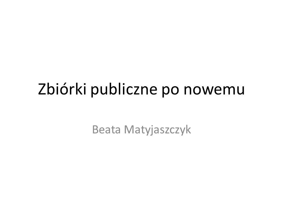 Zbiórki publiczne po nowemu Beata Matyjaszczyk