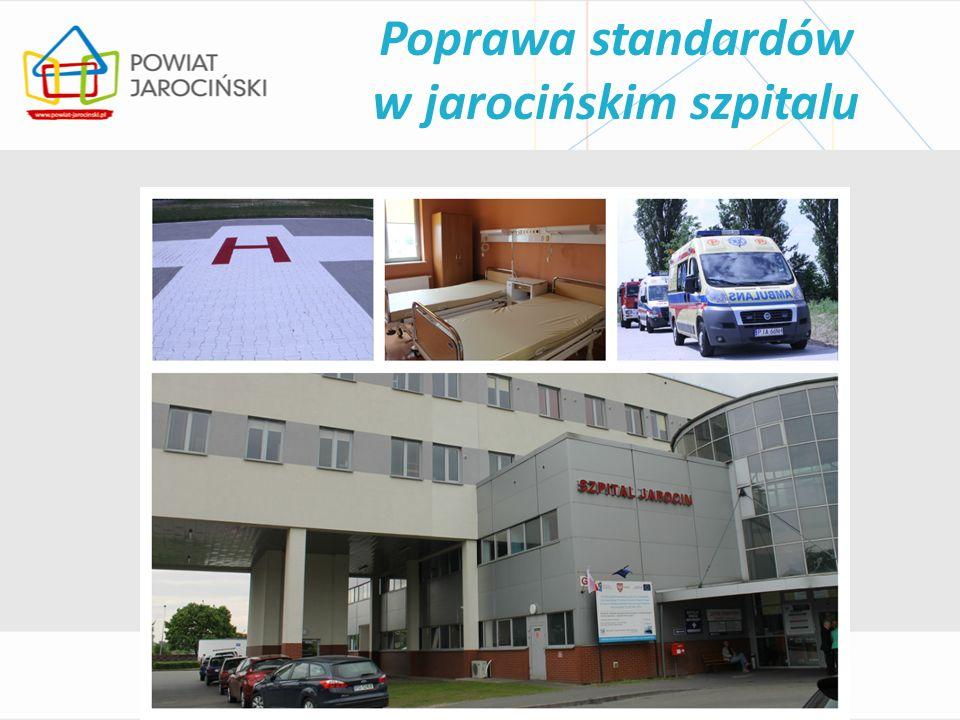 Poprawa standardów w jarocińskim szpitalu