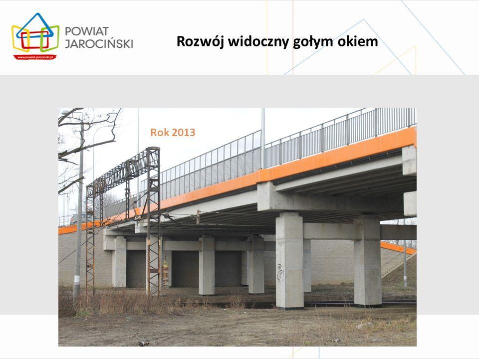 Inwestycje drogowe… …zrealizowane z udziałem dofinansowania unijnego Jarocin – Żerków – Śmiełów – Ruda Komorska rok 2010 Kotlin – Sławoszew – granica powiatu rok 2010