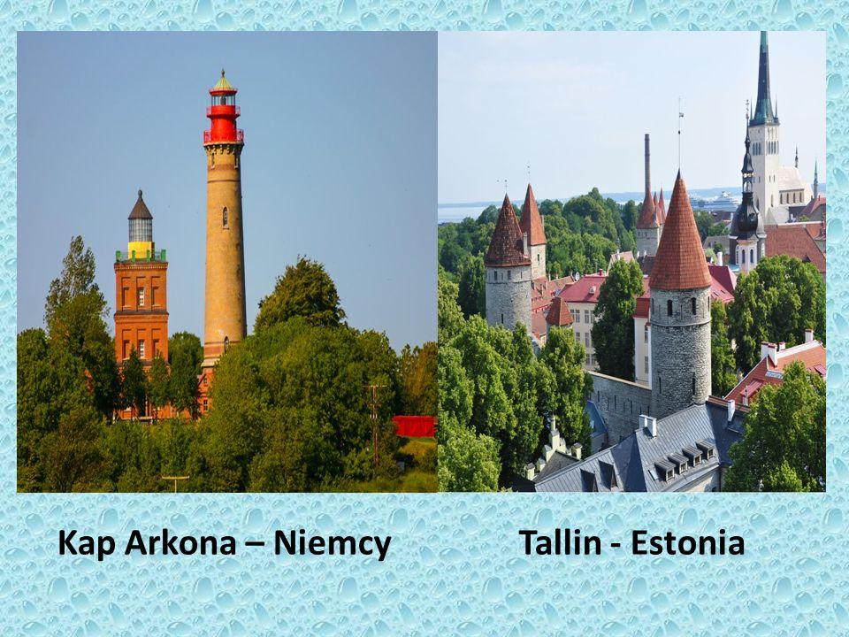 Kap Arkona – Niemcy Tallin - Estonia