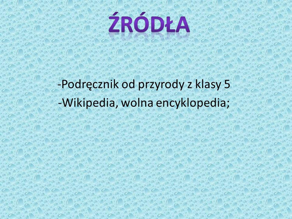 -Podręcznik od przyrody z klasy 5 -Wikipedia, wolna encyklopedia;