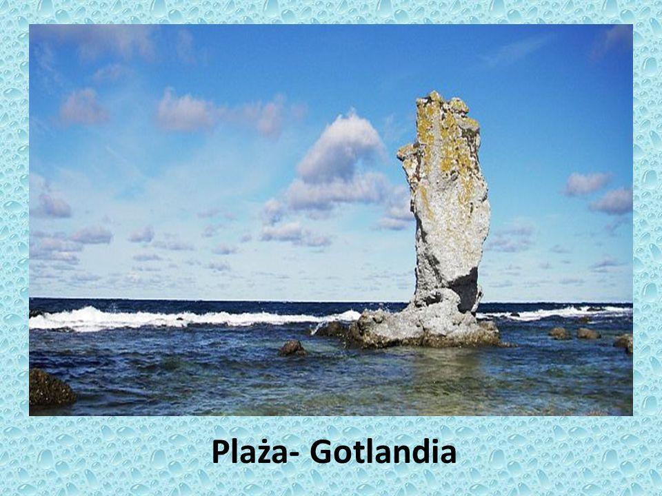 Plaża- Gotlandia