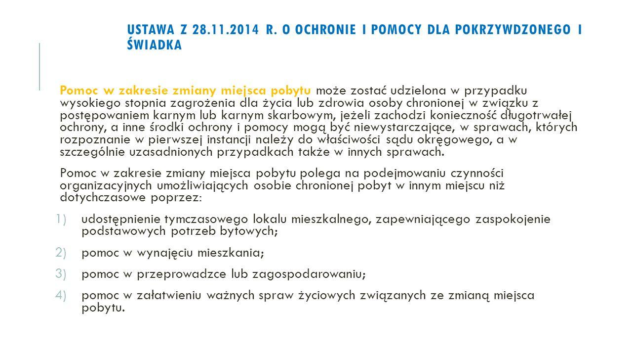 USTAWA Z 28.11.2014 R.