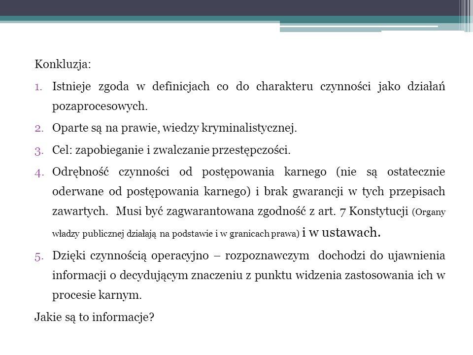 Kryterium podziału: planowość prowadzonych działań: 1.