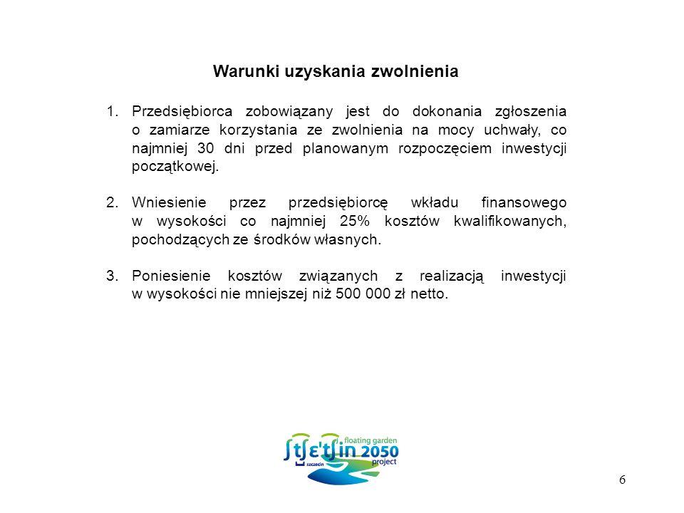 Ponieważ Inwestor otrzymał już wsparcie w wysokości 1.200.000 zł, co stanowi 30% Maksymalnej Intensywności Pomocy, wysokość zwolnienia z podatku od nieruchomości nie może przekroczyć kwoty 200.000.