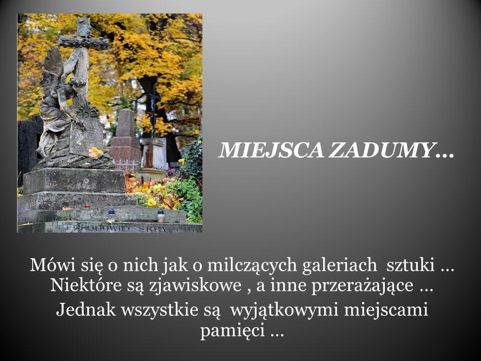 STARE POWĄZKI … to najbardziej znany z warszawskich cmentarzy.