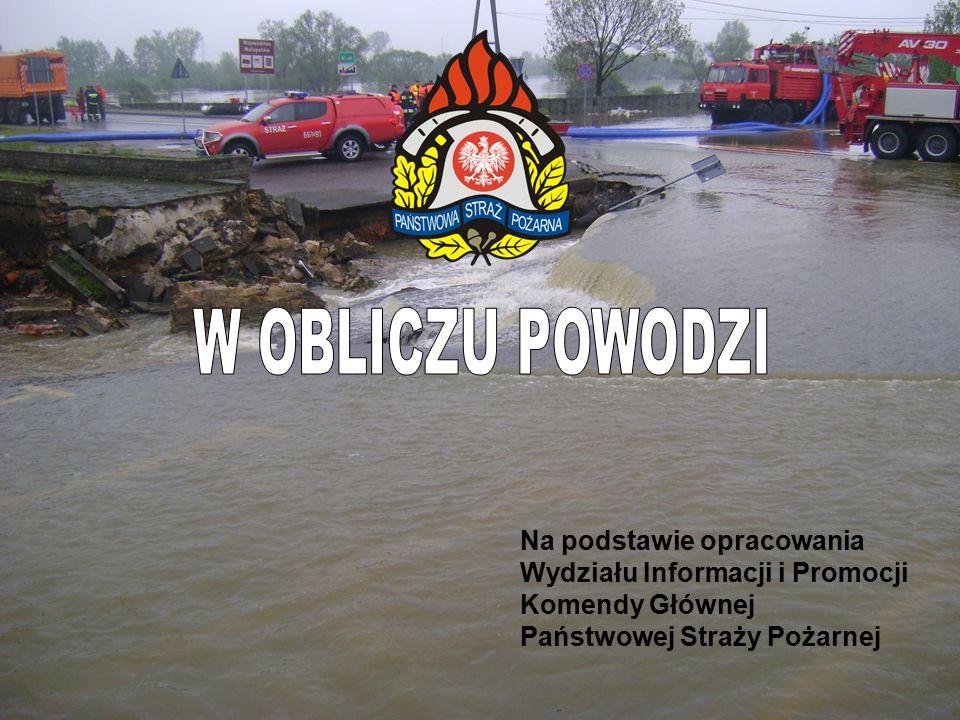 Bądź świadomy niebezpieczeństwa powodzi, zwłaszcza, jeśli mieszkasz na nisko położonym terenie, w pobliżu strumienia, rzeki lub poniżej zapory wodnej.