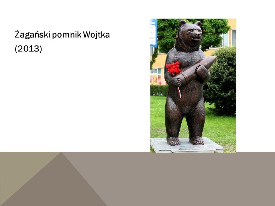 Żagański pomnik Wojtka (2013)