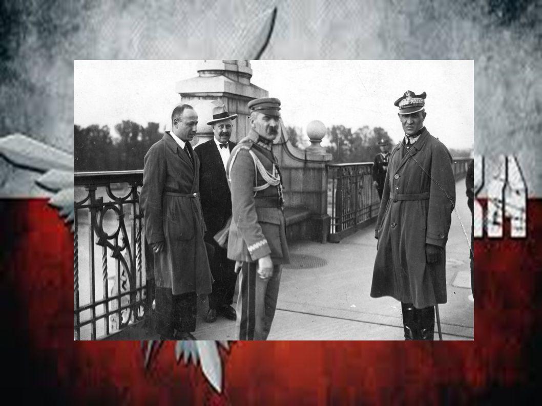 Pierwszy rząd Piłsudzkiego 2 października 1926 Józef Piłsudski został premierem.
