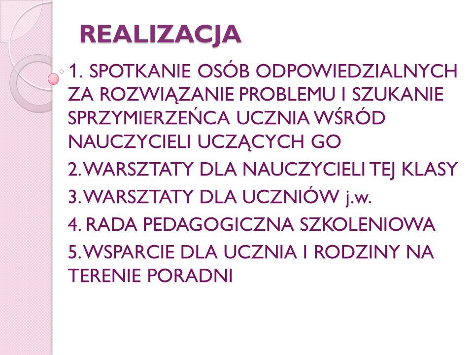 REALIZACJA 1.
