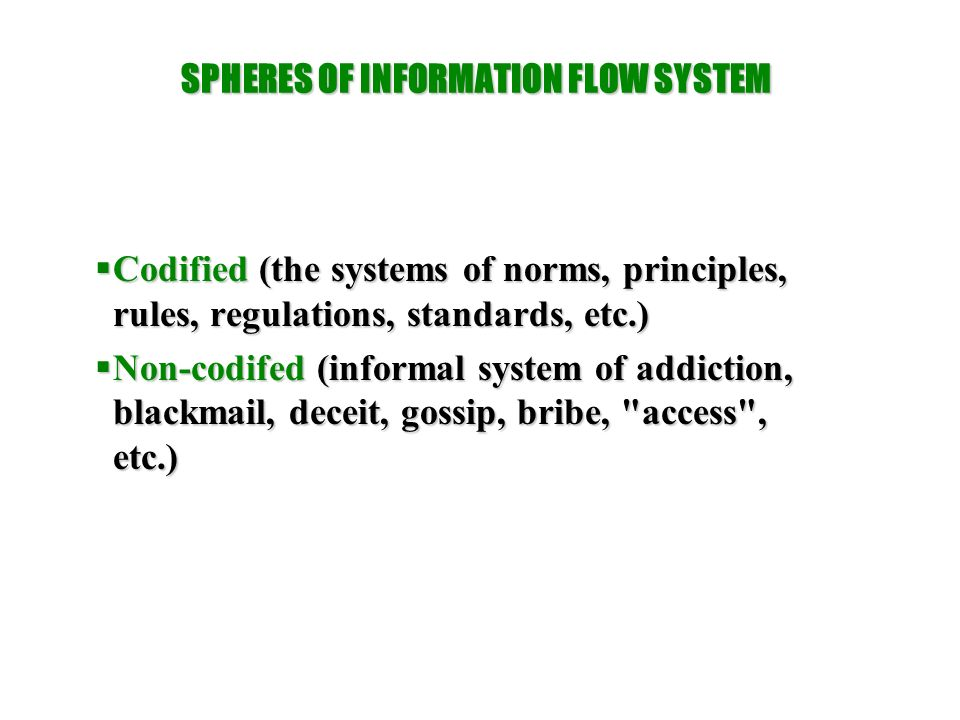 Information features  The information is processed to obtain new information  Information can be easily transmitted by means of information and communication technologies  A need to update information is its specific feature  Another feature of information is its diversity, resulting from the differences between considered objects, their diversity, various information sources and their subjective consideration by users  Another feature of information is its non-linearity.